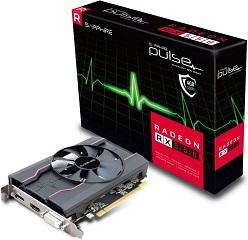 SAPPHIRE VGA PCI-E RADEON PULSE RX 550 4G OC (11268-01-20G)